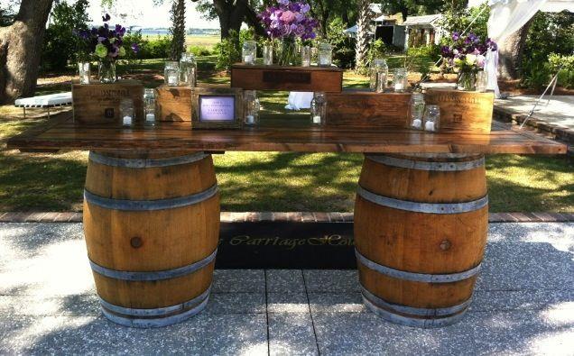 1000 Ideas About Wine Barrel Bar On Pinterest Wine