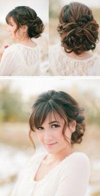 25+ best ideas about Bangs Updo on Pinterest | Wedding ...