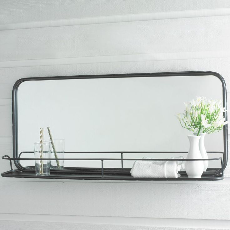 Subway Tile Vanity Wall Shelf Large