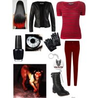 Creepypasta Smile Dog Outfit by ender1027 on Polyvore ...