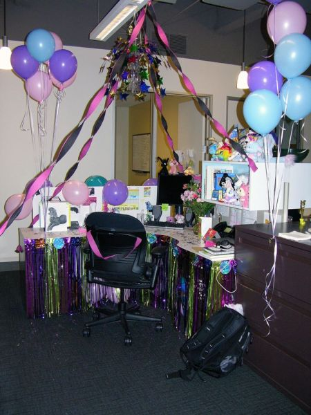 office birthday decorations 17 Best ideas about Office Birthday on Pinterest | Office birthday decorations, Cubicle birthday