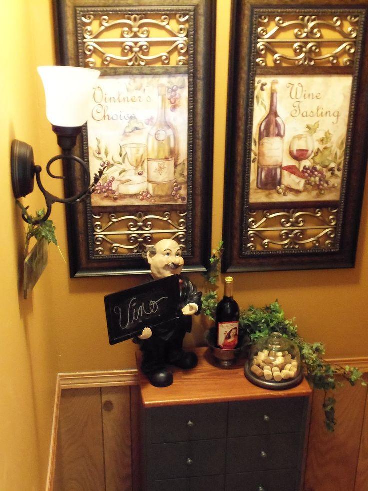 25 best ideas about Kitchen wine decor on Pinterest  Wine decor Wine decor for kitchen and