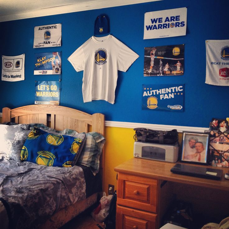 Golden state room decoration  Golden State Warriors  Pinterest  US states Golden state and