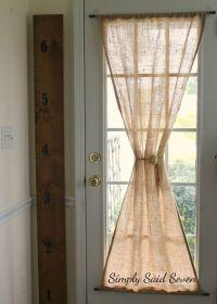 25+ best ideas about Door curtains on Pinterest   Door ...