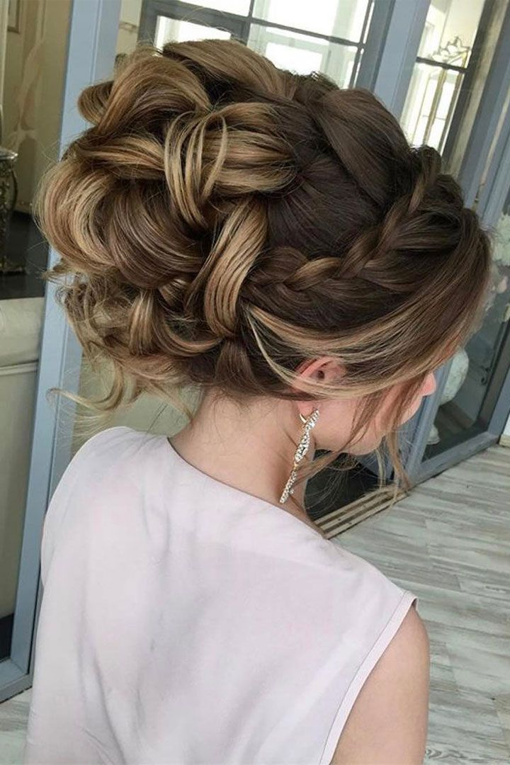 25 best ideas about Braided updo on Pinterest  Updos
