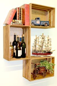 25+ best ideas about Crates On Wall on Pinterest ...