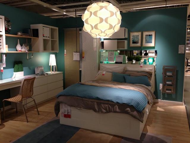 Ikea Brimnes bed frame wstorage  Furniture ideas  Pinterest  Desks Inspiration and Ikea desk