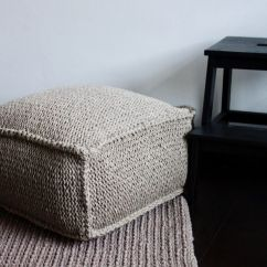 Mustard Yellow Bean Bag Chair Dxracer 25+ Best Ideas About Knitted Pouf On Pinterest | Pouffe, Poufs And Large Floor Cushions