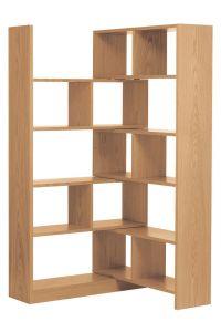 Oak Corner Shelving Unit - WoodWorking Projects & Plans