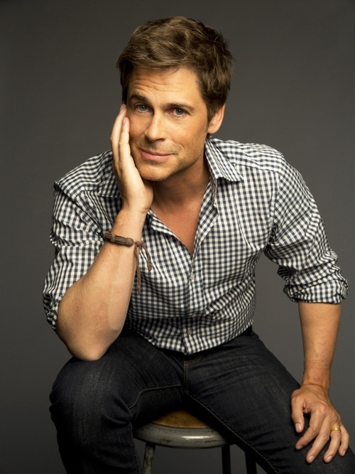 Rob Lowe. Had a huge crush on him when he was in the Outsiders, and I still do!! He is LITERALLY the most endearing and adorable character on Parks and Rec!!: