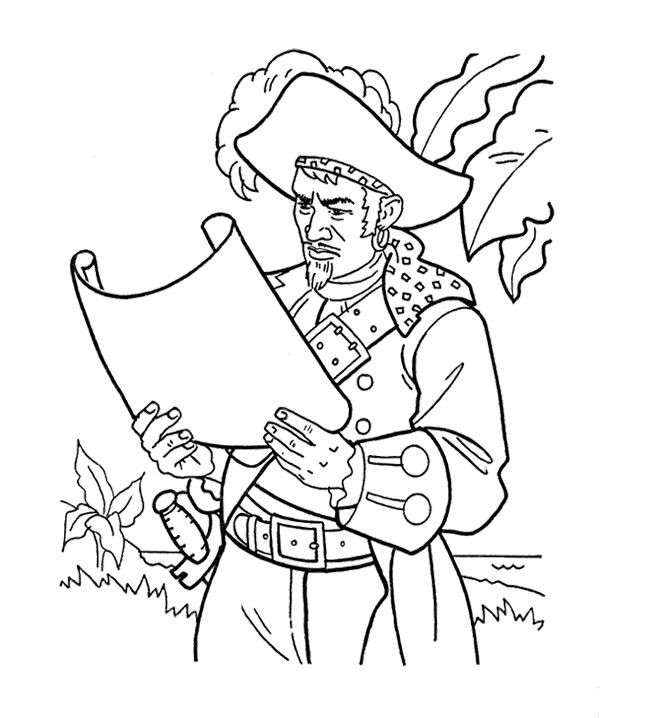 Pirate 79 Characters U2013 Printable Coloring Pages
