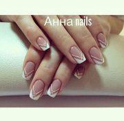 sta striped nail art iderna
