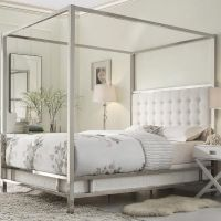 Best 20+ Queen size canopy bed ideas on Pinterest | Ikea ...