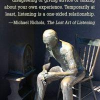Beelddenker luistert in beelden