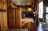 5th wheel with a front living room?  at Hershey Rv Show ...