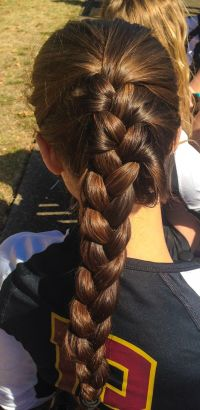 25+ best ideas about Cute Volleyball Hairstyles on ...
