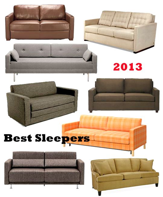 16 Best Sleeper Sofas  Sofa Beds 2013  Guest rooms Best sleeper sofa and Offices