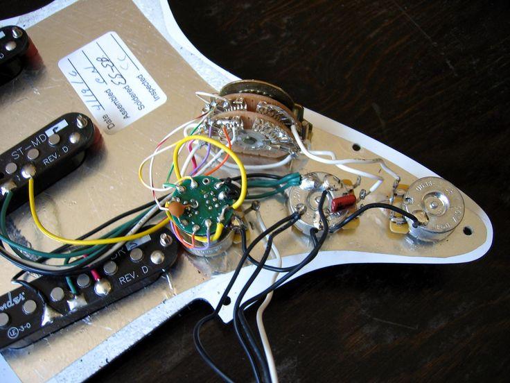 fender stratocaster deluxe hss wiring diagram fuel gauge chevy w/ s-1 switch | guitar repair pinterest