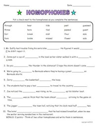 Homophones are Fun! Common Core aligned packet with ready ...