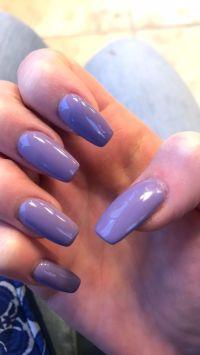 1000+ ideas about Purple Acrylic Nails on Pinterest ...