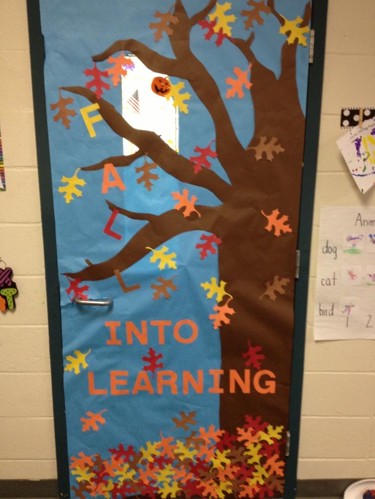 Autumn Classroom Door Decoration Ideas