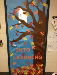 Autumn Classroom Door Decoration Ideas