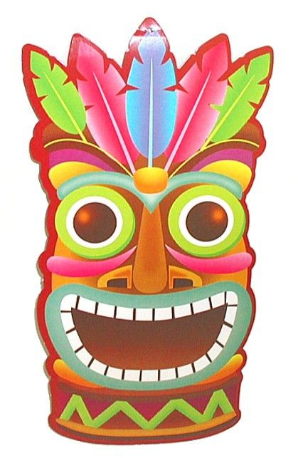 Tiki Face Totems Pinterest Wall Hangings Decor And