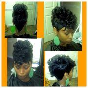 27pc mohawk hair