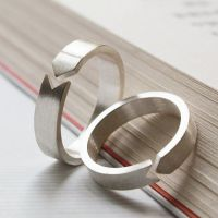 Matching Promise Rings, Personalized Couple Rings, Promise ...