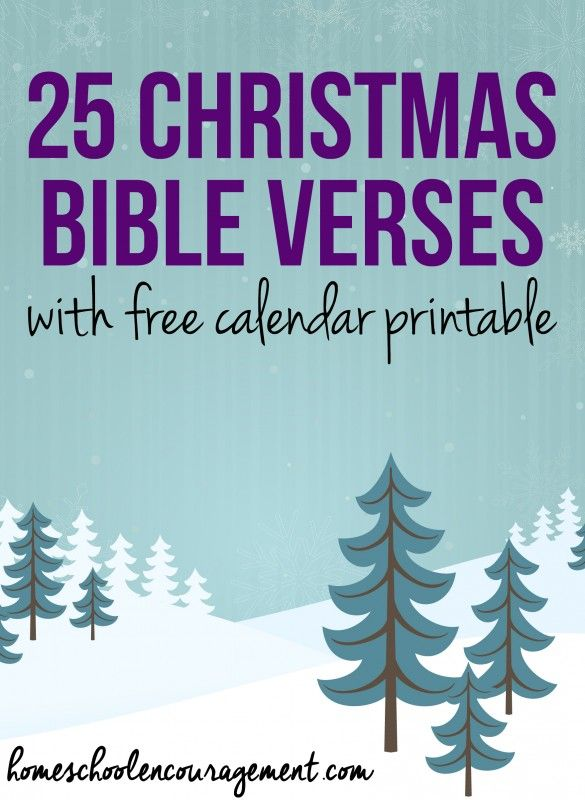 25 Days Of Christmas Bible Verses 25 Days Of Christmas