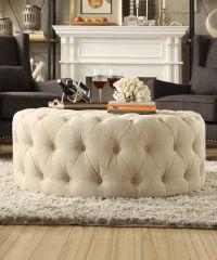 Best 20+ Round ottoman ideas on Pinterest | Teal sofa ...