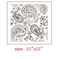 25+ best ideas about Paisley Stencil on Pinterest ...
