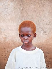 young northerner girl with natural
