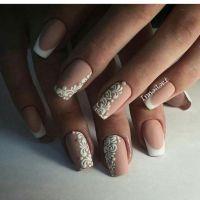 Best 25+ Elegant bridal nails ideas on Pinterest