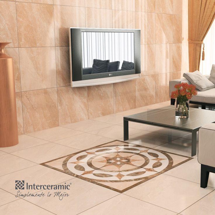 Mezcla estilos de pisos o azulejos para resaltar un