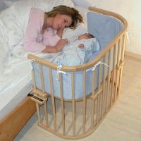Bassinet attached to side of your bed. | Kool' Tips ...