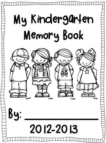 25+ best ideas about Kindergarten Memory Books on
