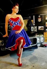 17 Best images about rebel flag wedding dress on Pinterest ...