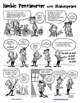 Iambic Pentameter: Shakespeare Comics