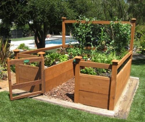 Raised Garden Box Layout