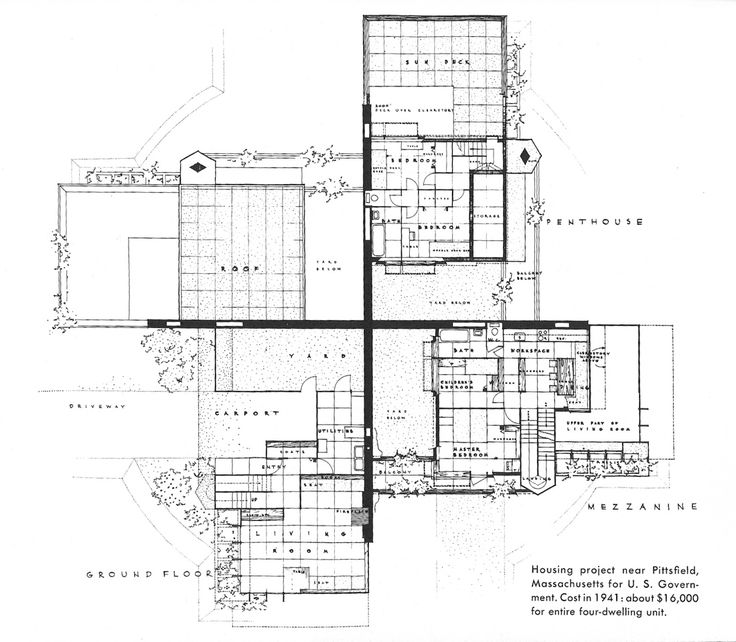 1000+ images about ARQ.Frank Lloyd Wright(EUA)>DRAWINGS on