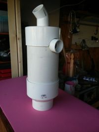 Homemade ( DIY ) Dust Collection Cyclone. Made out of ...