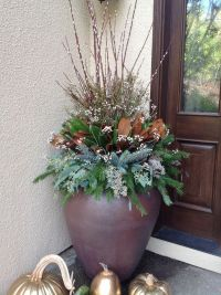 1000+ images about Winter Planters & Containers on ...