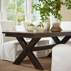 White Wrought Iron Kitchen Chairs Bar Table And Set Toscana Extending Rectangular Dining | Pottery Barn Home - & Dinning Pinterest ...