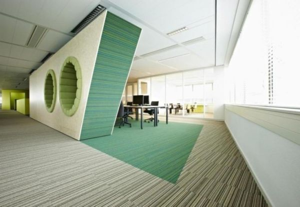 modern office interior design Very futuristic layout here with some innovative features. Interior Design, Modern Office
