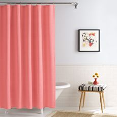 The 25 Best Ideas About Coral Shower Curtains On Pinterest Navy
