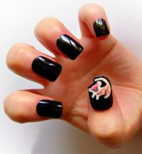 lion king nail art | Best Nail Art Inspired by Movies ...
