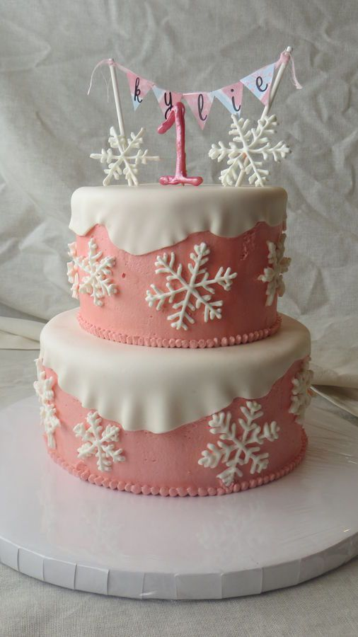 Cute Wallpapers For Girls 7 Year Old Winter Onederland Cake Royal Icing Snowflakes