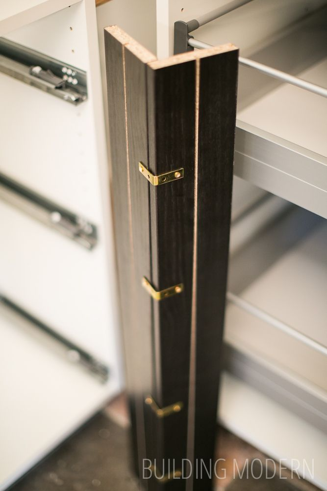 do it yourself kitchen countertops cedar cabinets diy cabinet filler strips between lower ...