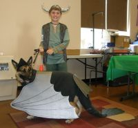 How To Train Your Dragon(Dog) costume for 4-H Dog Show. We ...